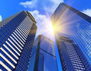 Immobilier de bureaux, espace de coworking, smartbuilding